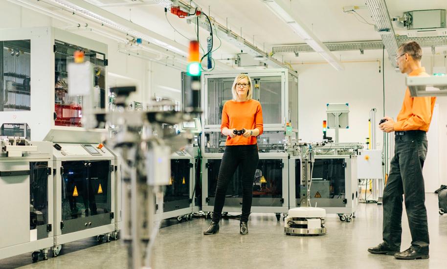 Industrial IoT Testbed Modellfabrik