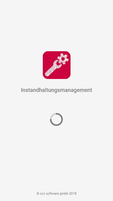 Startbildschirm_Mobile Instandhaltung mit Progressive Web Apps