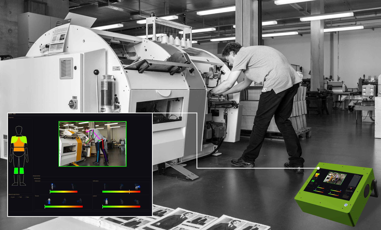 Videoanalyse am Arbeitsplatz - mit dem mobilen System von Ergonomics in Motion