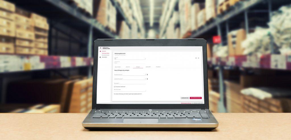 Werkzeugverwaltung-Software